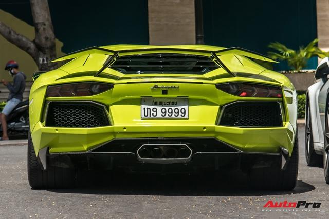 Đại gia Sài Gòn lột xác Lamborghini Aventador biển tứ quý 9 với màu sắc chói chang - Ảnh 5.