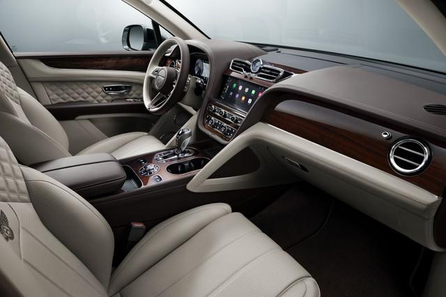 Bentley Bentayga 2021 chính thức chào sân - Nâng tầm SUV siêu sang - Ảnh 4.
