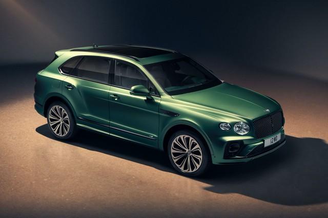 Bentley Bentayga 2021 chính thức chào sân - Nâng tầm SUV siêu sang - Ảnh 1.