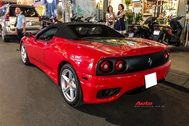 Ferrari 360 Spider từng của ông Đặng Lê Nguyên Vũ bất ngờ xuất hiện lại tại Sài Gòn - Ảnh 4.