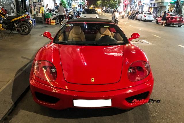 Ferrari 360 Spider từng của ông Đặng Lê Nguyên Vũ bất ngờ xuất hiện lại tại Sài Gòn - Ảnh 2.