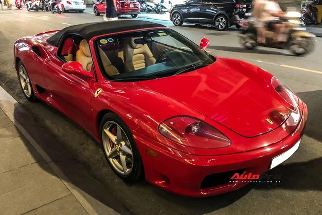 Ferrari 360 Spider từng của ông Đặng Lê Nguyên Vũ bất ngờ xuất hiện lại tại Sài Gòn - Ảnh 3.