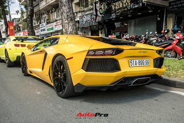 Lamborghini Aventador LP700-4 đầu tiên tại Việt Nam với biển số tứ quý 9 tái xuất trên phố Sài Gòn sau hơn một năm ẩn mình - Ảnh 4.