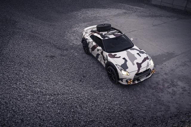 Nissan GT-R Godzilla 2.0 - Sedan lai SUV chuyên off-road mạnh 600 mã lực - Ảnh 3.