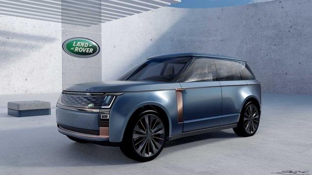 Xem trước Range Rover thế hệ mới – Ước ao thay đổi sau gần 10 năm