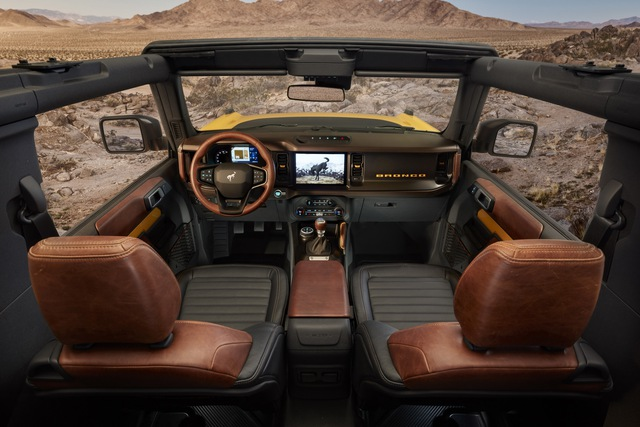 Ford Bronco chính thức chào sân: Trở lại để thống trị thị trường SUV off-road - Ảnh 8.