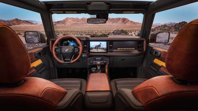 Săm soi chi tiết nội, ngoại thất Ford Bronco mới - Ảnh 4.