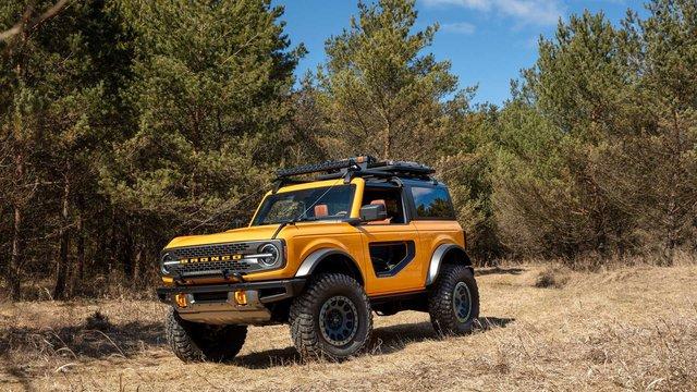 Săm soi chi tiết nội, ngoại thất Ford Bronco mới