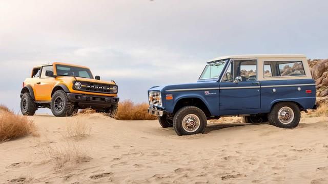 So sánh Ford Bronco vs Bronco Sport: Khác biệt không chỉ từ tên gọi - Ảnh 2.