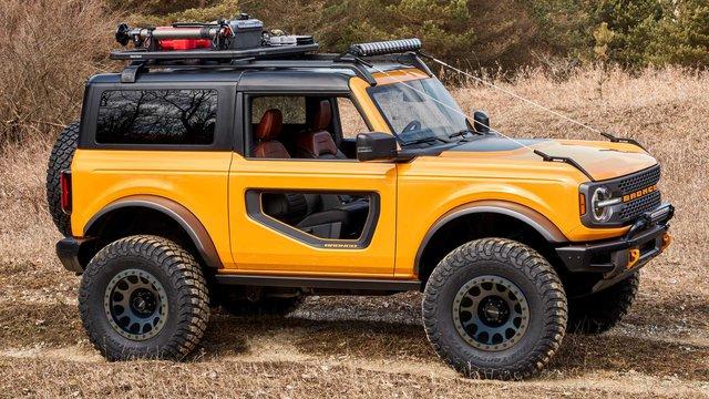Săm soi chi tiết nội, ngoại thất Ford Bronco mới - Ảnh 2.