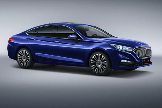 Đây là mẫu xe sang Hongqi dùng chung khung gầm Mazda6 vừa ra mắt tại Trung Quốc - Ảnh 1.