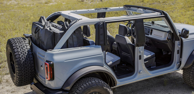 Ford Bronco chính thức chào sân: Trở lại để thống trị thị trường SUV off-road - Ảnh 6.