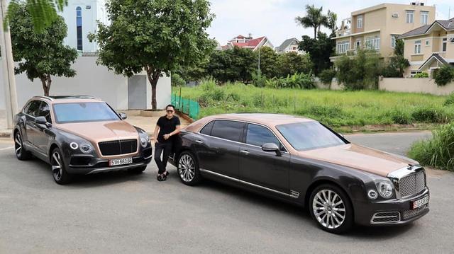 Sau hơn 1 năm tậu về, Hoàng Kim Khánh ra biển số Bentley Bentayga V8 bản kỷ niệm 100 năm đầu tiên Việt Nam, cặp số gánh siêu lộc - Ảnh 2.