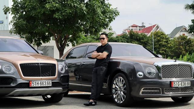 Sau hơn 1 năm tậu về, Hoàng Kim Khánh ra biển số Bentley Bentayga V8 bản kỷ niệm 100 năm đầu tiên Việt Nam, cặp số gánh siêu lộc - Ảnh 1.