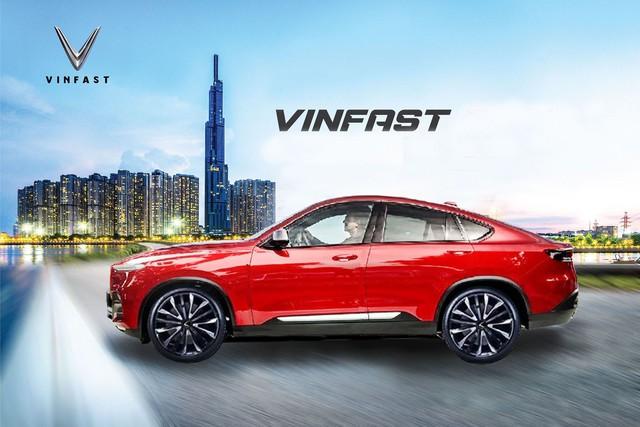 VinFast Lux SA2.0 biến thành coupe SUV như BMW X6 qua thiết kế của fan - Ảnh 3.