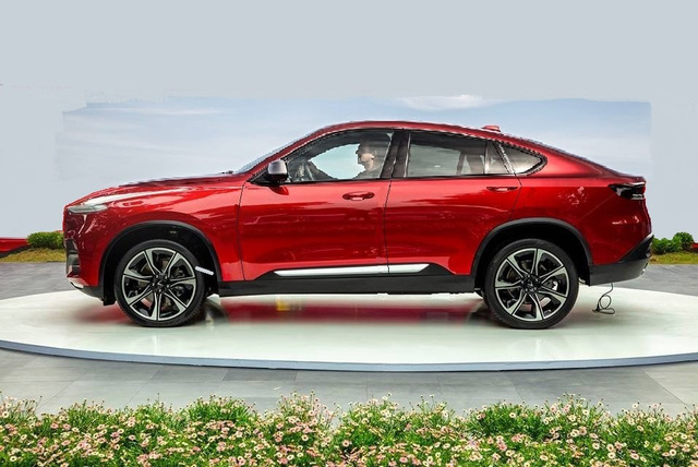 VinFast Lux SA2.0 biến thành coupe SUV như BMW X6 qua thiết kế của fan - Ảnh 1.
