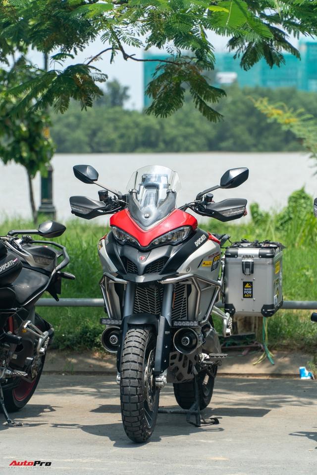 Dàn Ducati hơn 80 chiếc quy tụ tại Sài Gòn: Nhiều mô tô tiền tỷ xuất hiện - Ảnh 6.