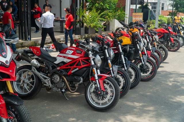 Dàn Ducati hơn 80 chiếc quy tụ tại Sài Gòn: Nhiều mô tô tiền tỷ xuất hiện - Ảnh 7.