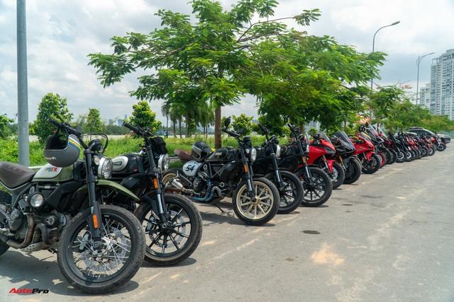 Dàn Ducati hơn 80 chiếc quy tụ tại Sài Gòn: Nhiều mô tô tiền tỷ xuất hiện - Ảnh 2.