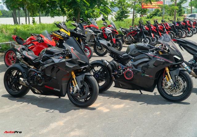 Dàn Ducati hơn 80 chiếc quy tụ tại Sài Gòn: Nhiều mô tô tiền tỷ xuất hiện - Ảnh 3.