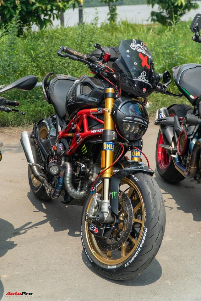 Dàn Ducati hơn 80 chiếc quy tụ tại Sài Gòn: Nhiều mô tô tiền tỷ xuất hiện - Ảnh 4.