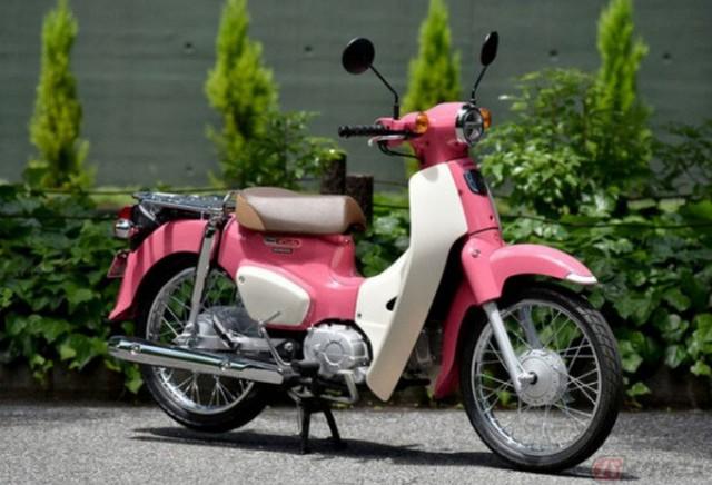 Honda giới thiệu phiên bản xe Super Cub 50 và 100 giới hạn, lấy cảm hứng từ phim hoạt hình Weathering with You - Ảnh 1.