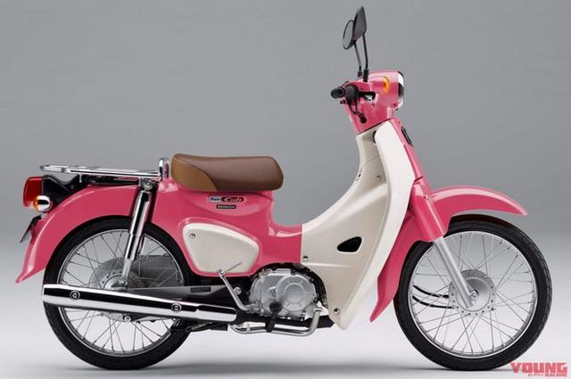 Honda giới thiệu phiên bản xe Super Cub 50 và 100 giới hạn, lấy cảm hứng từ phim hoạt hình Weathering with You - Ảnh 3.