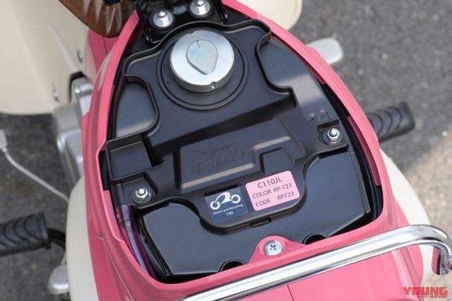 Honda giới thiệu phiên bản xe Super Cub 50 và 100 giới hạn, lấy cảm hứng từ phim hoạt hình Weathering with You - Ảnh 4.