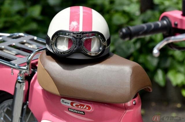 Honda giới thiệu phiên bản xe Super Cub 50 và 100 giới hạn, lấy cảm hứng từ phim hoạt hình Weathering with You - Ảnh 8.