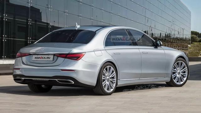 Xem trước Mercedes-Benz S-Class 2021 ra mắt trong tháng 9: Tuyệt phẩm cho giới nhà giàu - Ảnh 1.