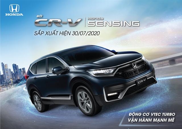 Honda CR-V 2020 ra mắt Việt Nam ngày 30/7: Lắp ráp 3 phiên bản, giảm 50% trước bạ, nhiều công nghệ lần đầu xuất hiện - Ảnh 1.