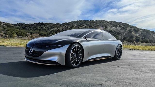 Choáng trước khả năng vận hành 'đầu bảng' của Mercedes-Benz S-Class phiên bản thuần điện