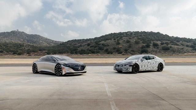 Choáng trước khả năng vận hành đầu bảng của Mercedes-Benz S-Class phiên bản thuần điện - Ảnh 2.