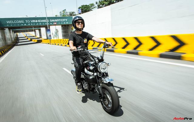 Rong chơi tháng ngày trên Honda Monkey như những chú khỉ lêu nghêu trên đường phố Việt - Ảnh 6.