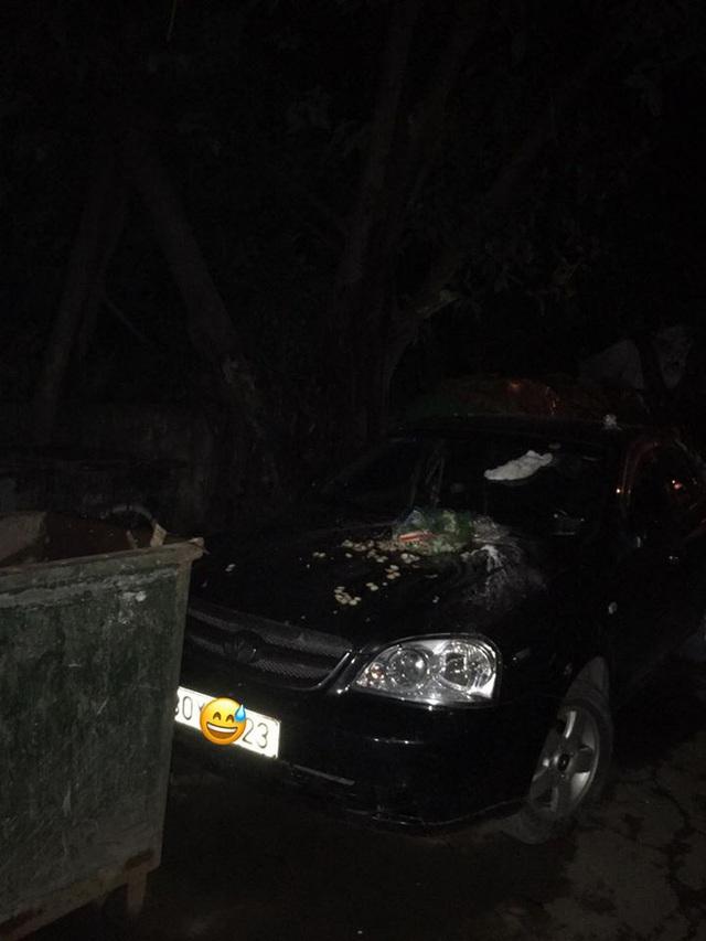 Đỗ xe chắn bãi rác, tài xế ô tô chắc sẽ hoảng hồn với thứ nhầy nhụa trên nắp ca - pô - Ảnh 1.