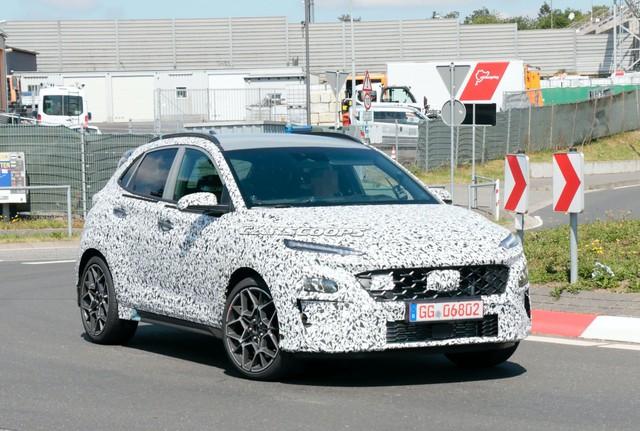 Hyundai Kona N tiến gần hơn đến ngày ra mắt - Cảm hứng từ Santa Fe - Ảnh 1.
