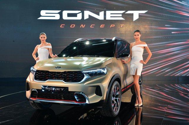 Kia Sonet - Đàn em Seltos ấn định ngày ra mắt, cạnh tranh Hyundai Venue - Ảnh 1.