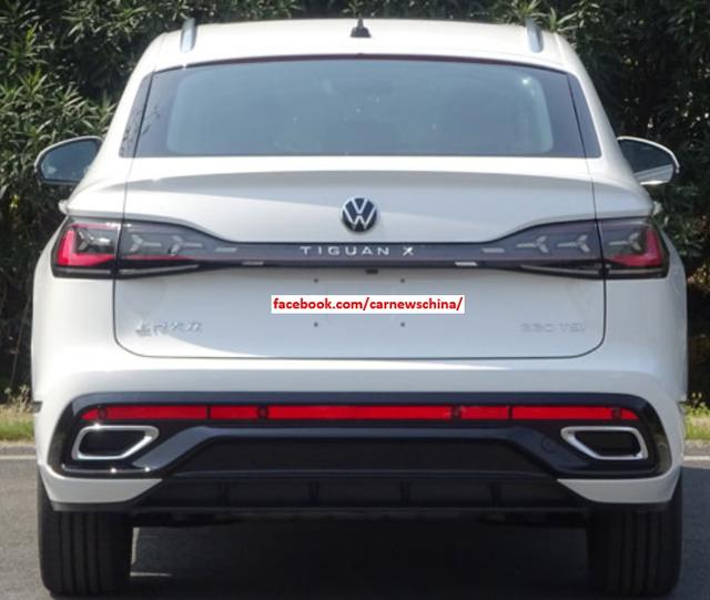 Volkswagen Tiguan X: SUV Coupe tiệm cận hạng sang lộ diện - Ảnh 3.