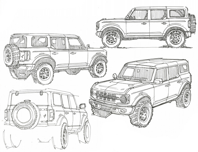 Ford Bronco sẽ có bản bán tải - Khi Ranger được offroad hoá - Ảnh 1.