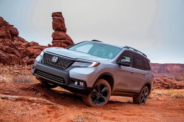 Honda đăng ký bản quyền tên gọi lạ nhắm tới Ford Bronco? - Ảnh 1.