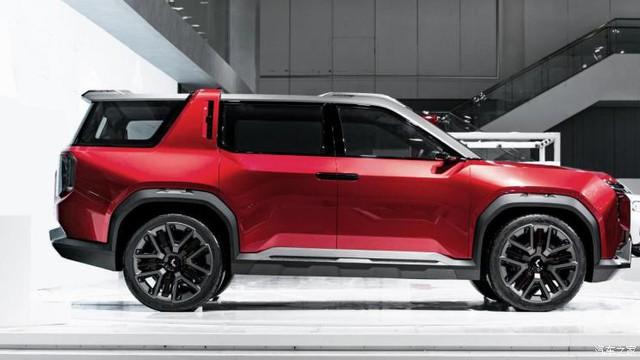 GM Trung Quốc nhá hàng concept SUV đẹp chẳng kém Ford Bronco - Ảnh 1.