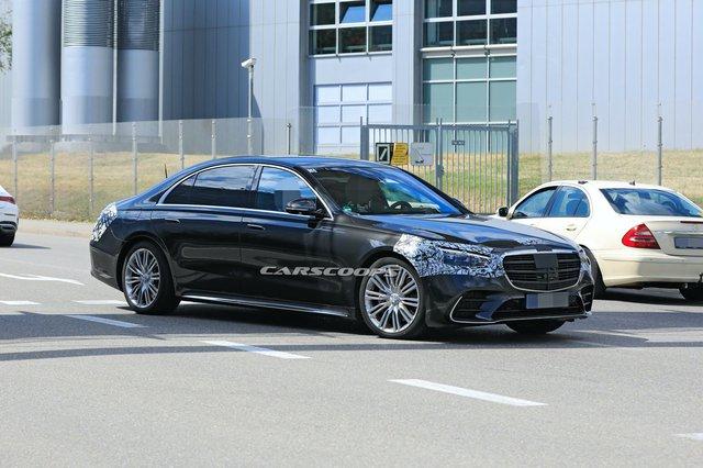 Mercedes-Benz vén màn thêm chi tiết độc nhất vô nhị trên S-Class mới - Ảnh 1.