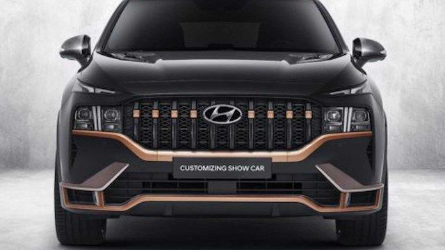 Hyundai Santa Fe đời mới tăng hấp dẫn với gói trang bị thể thao N Performance - Ảnh 1.