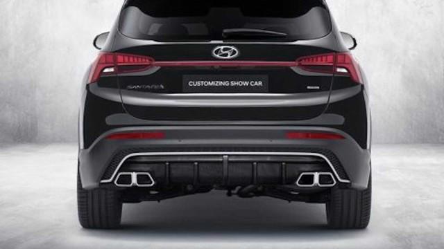 Hyundai Santa Fe đời mới tăng hấp dẫn với gói trang bị thể thao N Performance - Ảnh 3.