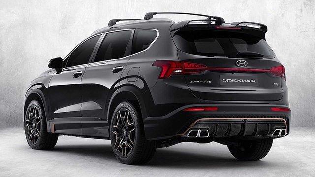 Hyundai Santa Fe đời mới tăng hấp dẫn với gói trang bị thể thao N Performance - Ảnh 2.