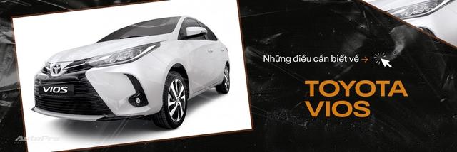 Toyota Vios 2021 chính thức ra mắt: Đầu đẹp như Camry, thêm khó cho Hyundai Accent - Ảnh 4.