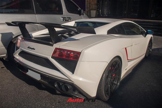 Cận cảnh Lamborghini Gallardo LP560-4 độ bodykit phiên bản giới hạn Squadra Corse vừa về Việt Nam - Ảnh 1.