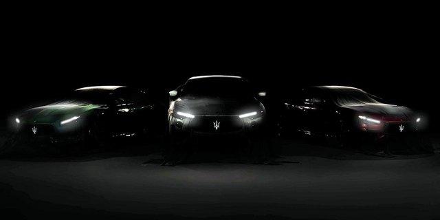 Maserati Ghibli Trofeo và Quattroporte Trofeo lộ mặt, chốt ngày ra mắt - Ảnh 1.