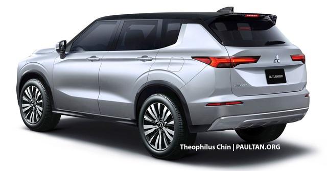Xem trước Mitsubishi Outlander thế hệ mới sắp ra mắt: Đẹp như concept, đe doạ Honda CR-V - Ảnh 1.