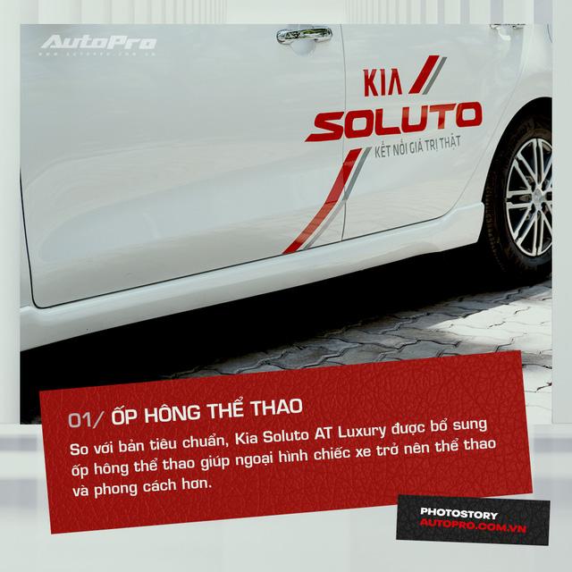 10 tính năng nổi bật trên Kia Soluto AT Luxury được khách hàng đánh giá cao - Ảnh 1.